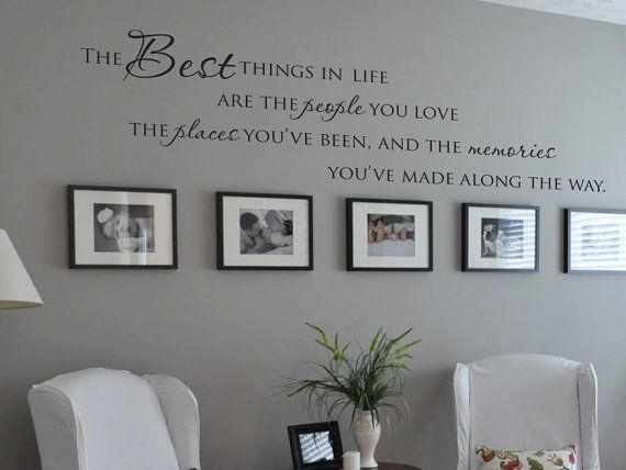 Best  Wall Vinyl Ideas On Pinterest Vinyl Wall Quotes Wall - Custom vinyl wall decals sayings for family room