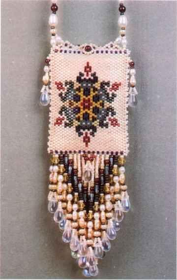 Peyote Bead Patterns Rose Medicine Bag Patterns Beaded