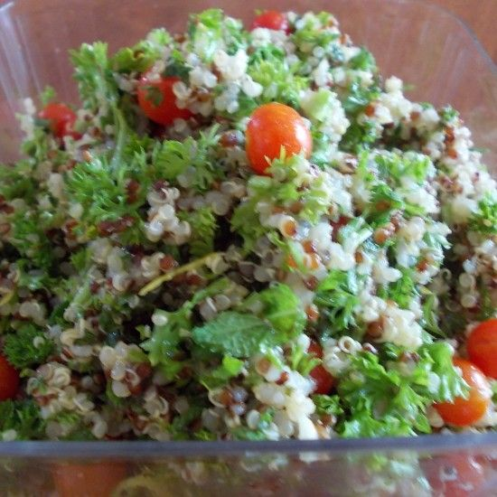 Your Inspiration at Home Quinoa Tabouli #YIAH #Quinoa #healthy