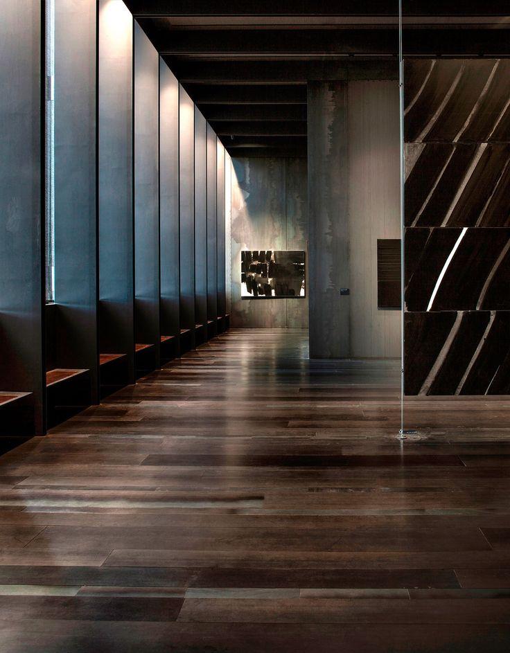 Museo Soulages, 2014, Rodez, Francia. En colaboración con G. Trégouët. Rafael Aranda, Carme Pigem y Ramon Vilalta, Ganadores del Premio Pritzker de Arquitectura 2017. Imagen © Hisao Suzuki. Cortesía del Premio Pritzker de Arquitectura.