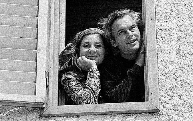 Ruttkai Éva és Latinovits Zoltán