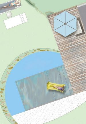 La scelta delle forme nella progettazione di piscine biologiche, biopiscine e biopools