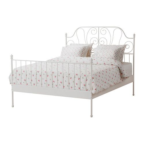 Ikea White Queen Bed brusali bed frame ikea adjustable bed sides allow you to use mattresses of different thicknesses Leirvik Bed Frame White Lury Queen Bed Framesikea