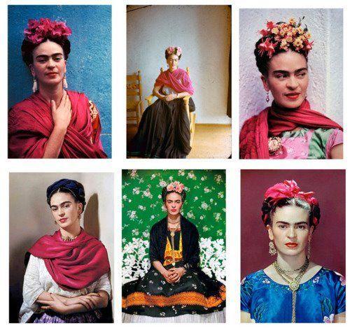 Oltre 1000 idee su disfraz frida kahlo su pinterest - Estilo frida kahlo ...