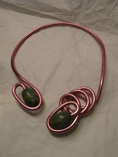 lotto 10 collane in alluminio-artigianato di sogni d'arte by adalgisa su DaWanda.com