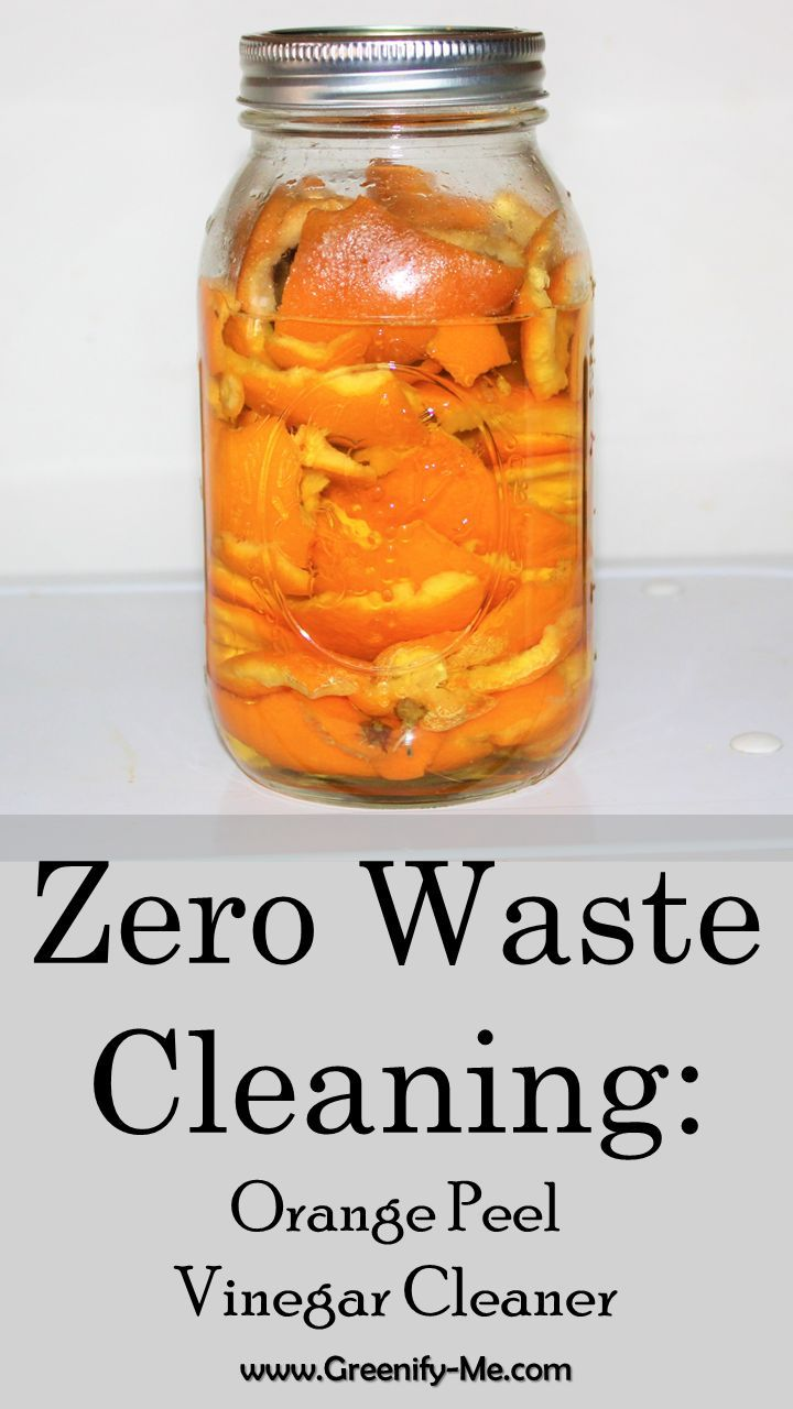 c094d48b9ad7a2f8d32af73d4a26fc8b Zero Waste Cleaning: Orange Peel Vinegar Cleaner   Orange Peel Vinegar is perfec...