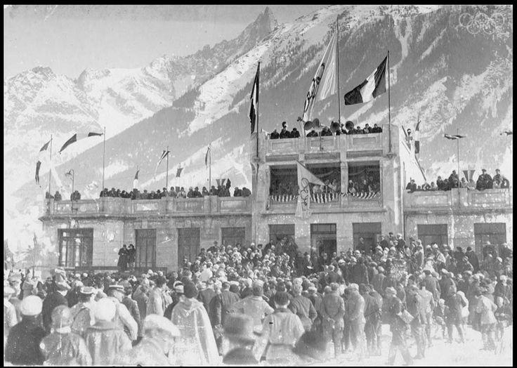 The first Winter Olympics - 1924, Chamonix, France
