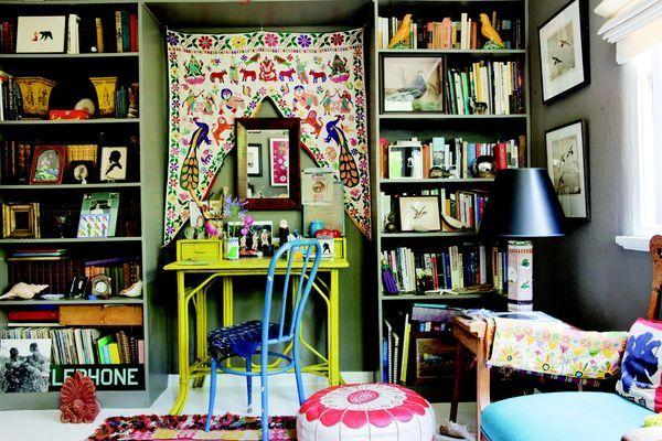 Colorful bohemian Livingroom