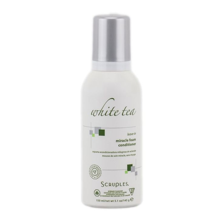 Scruples White Tea Leave-in Miracle Foam, 5 oz