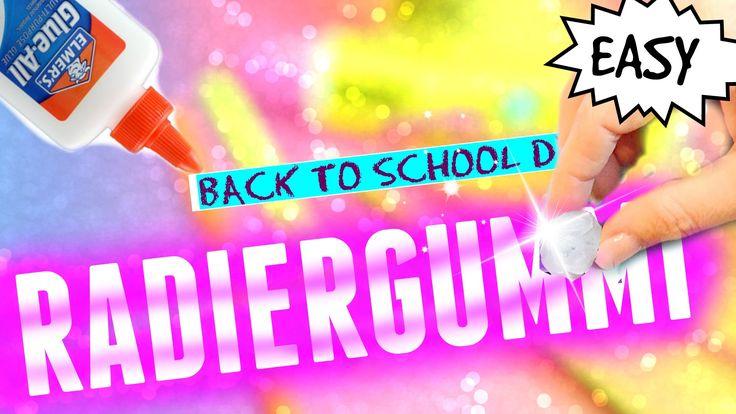 Diy knetbarer radiergummi selber machen i back to school for Radiergummi selber machen