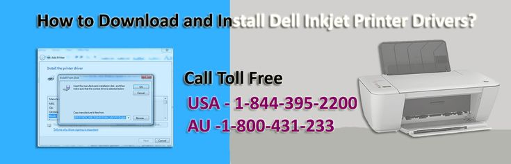 Contact 1-844-395-2200 for the most suitable instructions to know how to download and install Dell inkjet printer drivers without any trouble. The whole process is explained with step-by-step to make sure the right driver is installed on computer and run the #Dell_printer without facing any problem. With these steps Dell printer driver can be installed easily on any windows computer and if there is any technical problem online support for Dell printer driver is available here.