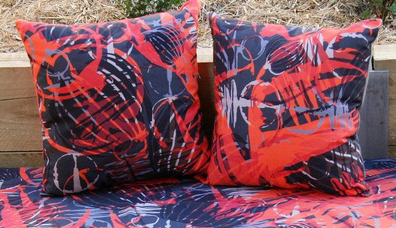cushion cover original australian design by PeachyArtandTreasure