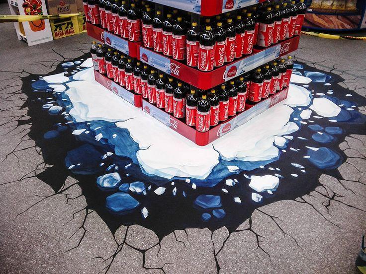 Activare Coca-Cola Ursuletii, Mega Image Gemeni Bucuresti, 2013