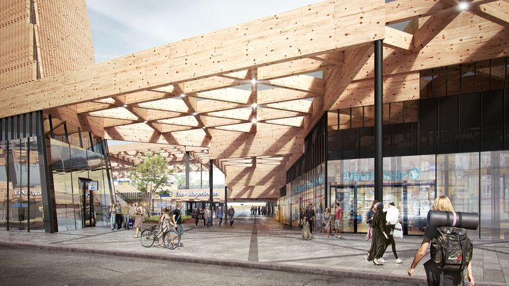 Mecanoo is Helping Commuters Find their Way With Vibrant Plans for Ede Wageningen Train Station,Courtesy of Mecanoo