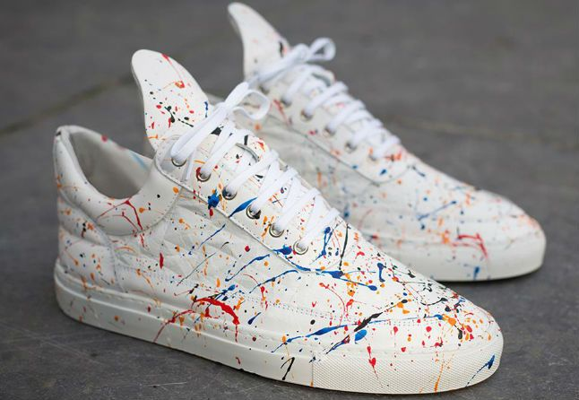 Filling Pieces Low Top Splash Footwear Pinterest
