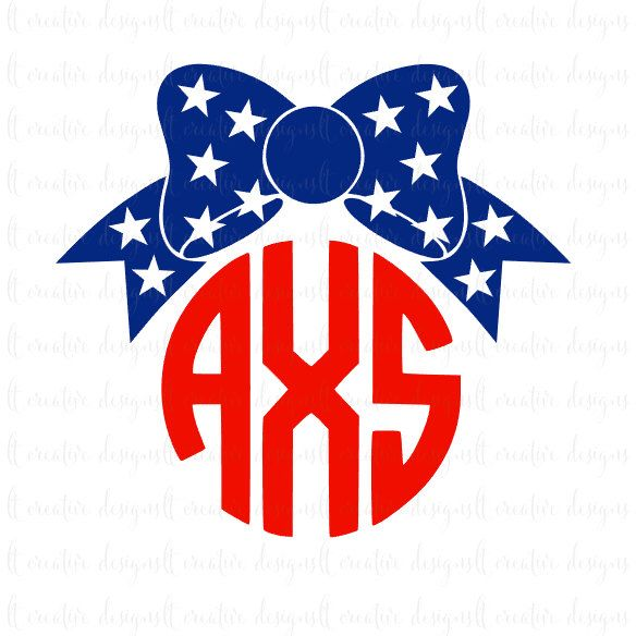 4th of July Bow SVG, 4th of July SVG, Fourth of July SVG, Cricut Cut Files, Silhouette Cut Files by LTCreativeDesigns on Etsy https://www.etsy.com/listing/292179959/4th-of-july-bow-svg-4th-of-july-svg