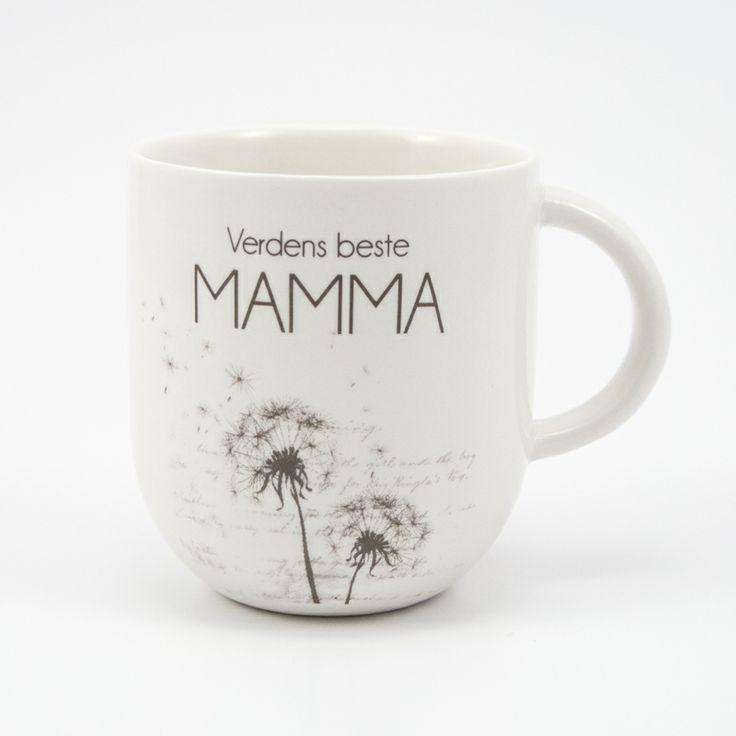 Kaffekopp til verdens beste mamma fra lea.no