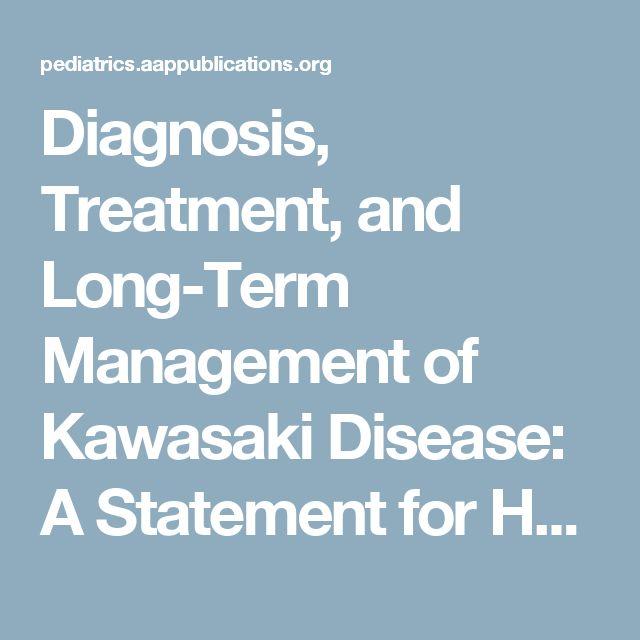 Diagnosis Treatment And Long Term Management Of Kawasaki