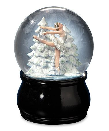 Swan Lake Ballet Water Globe by The San Francisco Music Box Company #zulilyfinds