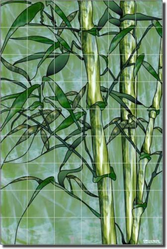 Expressions Bamboo Plant Art Shower Ceramic Tile Mural | eBay