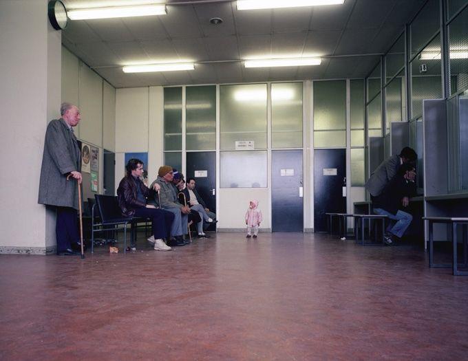 Paul Graham  Beyond Caring - eighties doll office