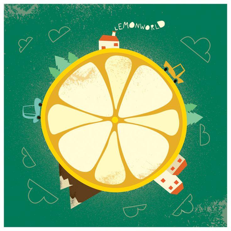 Lemonworld by ~ivan-bliznak on deviantART