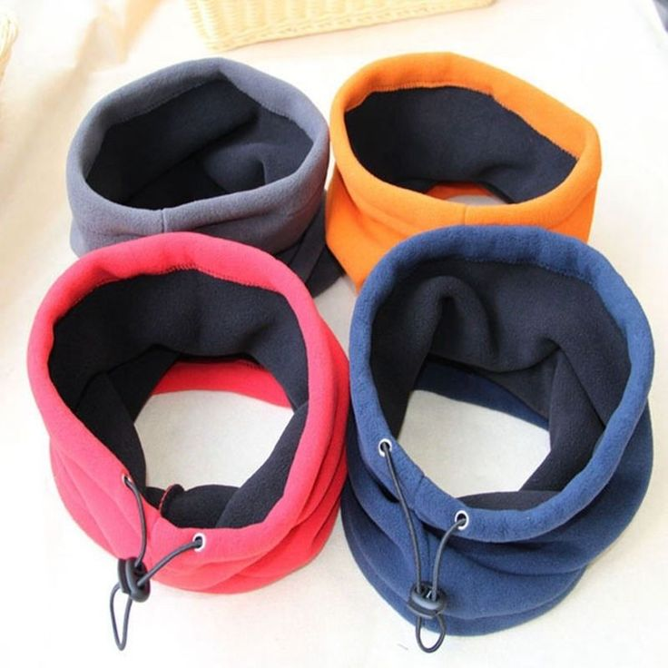 3-in-1 Winter Cold Weather Face Mask Neck Warmer Thermal Scarf Unisex 4 Colors #ZENGCAI #Casual