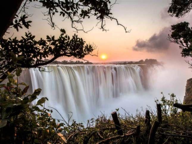 Victoriafallen, Zimbabwe. Foto: Shutterstock