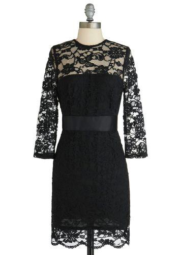 So Noir, So Good Dress, #ModCloth  I wish I had somewhere to wear this dress!