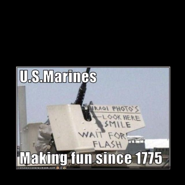 Little Marine humor.