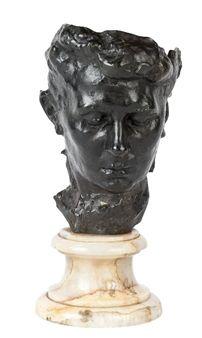Masque de Madame Rodin dit aussi Masque de Rose Beuret By Auguste Rodin ,Circa  1882