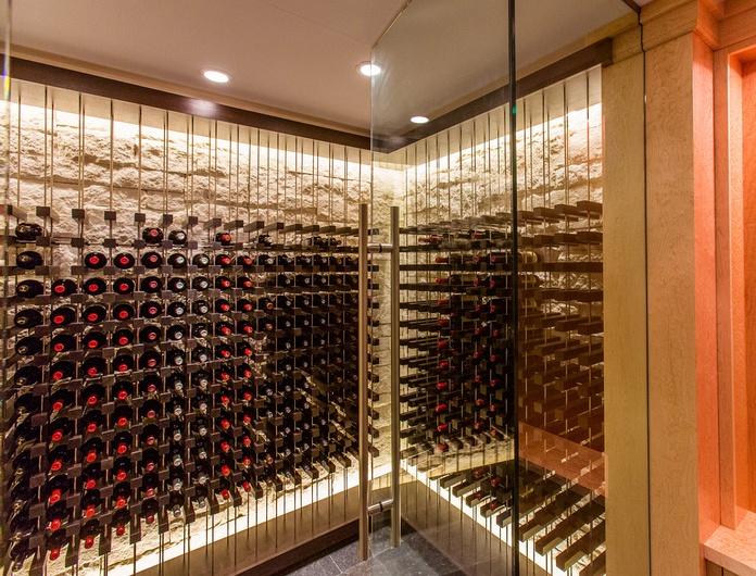 Vinium Series - Architectural Wine Racking - contemporary - wine cellar - other metro - Kessick Wine Cellars | Wine Closet | Pinterest | Wine cellars Wine ... & Vinium Series - Architectural Wine Racking - contemporary - wine ...