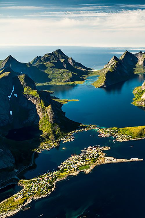 Lofoten Islands, Norway. Beautiful and a great base for viewing the Northern Lights