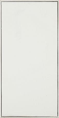 Ted Kurahara: Double portrait white and black - white, 1983-84, oil, a' 45x92 cm - Stockholms Auktionsverk 5/2016