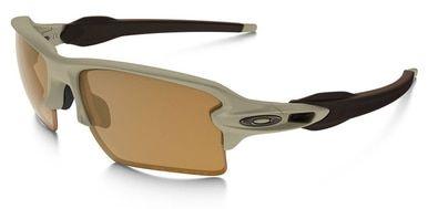 Oakley SI Flak Jacket 2.0 XL with Desert Frame and Bronze Polarized Lens