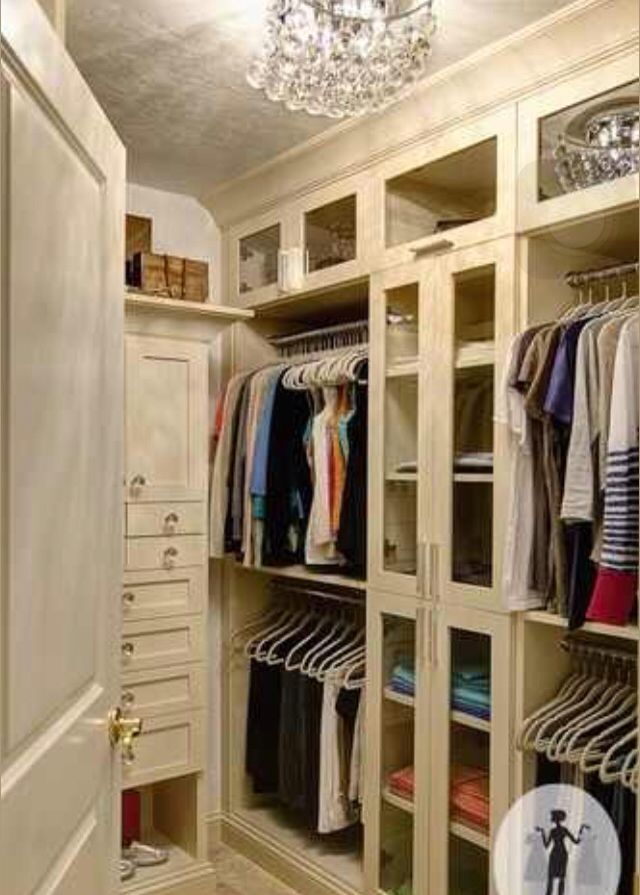 Walk In Closet For The Home Pinterest Dressing Room Bedroom Closets And Closet Organization