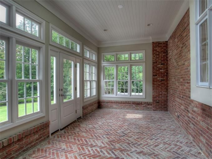 A SUN Room, A closed in Porch,  A Closed in Mud room, whatever your choice to call it, I would like one:)