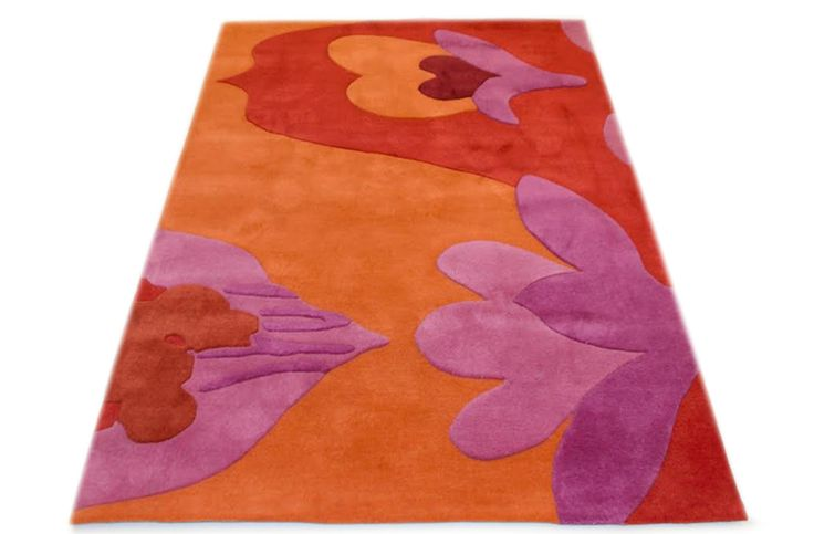 CLEARANCE RUG: The Fancy Flowers #rug is sized 140 x 210cm & is hand tufted from 100% Pure New Zealand Wool.