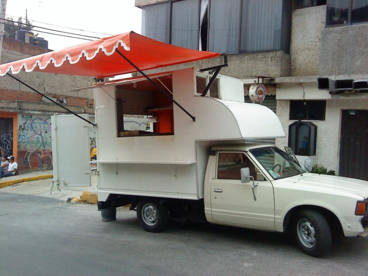 mini food truck food truck ideas Pinterest Tacos