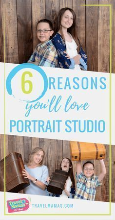 6 Reasons You'll Love Portrait Studio! These affordable and convenient photo studios are located in select Walmart stores. #PortraitPhotos #FamilyPhotos #WalmartPhotos #Walmart #PortraitStudios