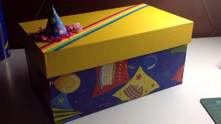 Caja de cumpleaños #box