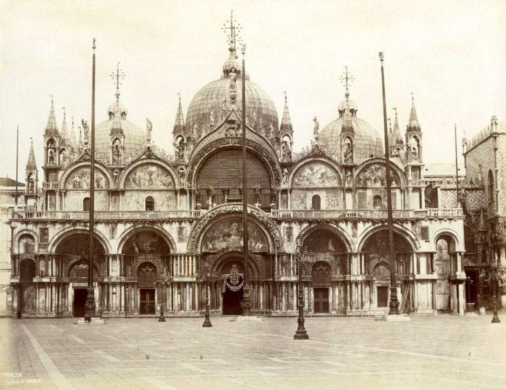 Saint Marks Basilica, Venice by Carlo Naya