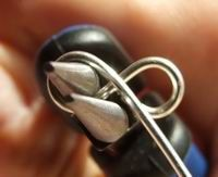 """Making a """"figure 8"""" connector: #wire #jewelry #tutorial"""