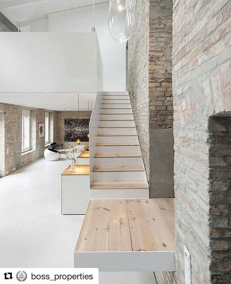 Nordic Rustic Design Is Constructed Of Old Beams And Original, Uncovered  Brick Walls. Built By Asdfg Architekten. Photo By Michael Pfisterer. (at  Berlin ...