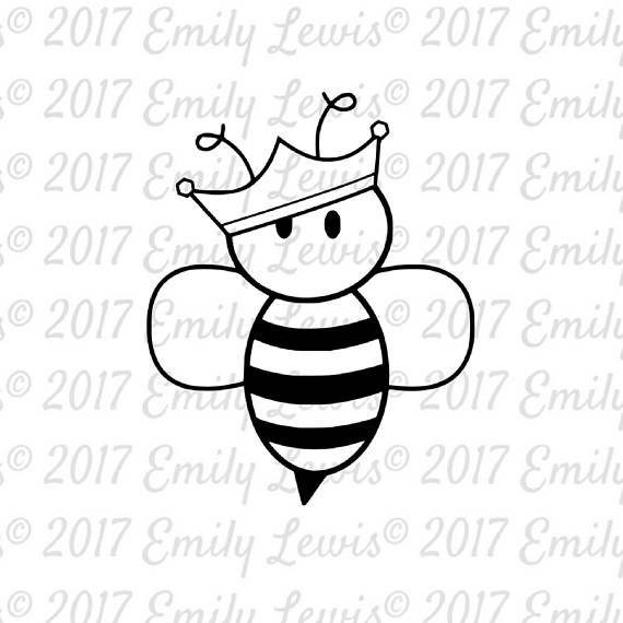 queen bee svgs  bumblebee svg  bee svg files  bee��