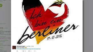 Anschlag in Berlin: Bevölkerung und Prominenz nehmen Anteil