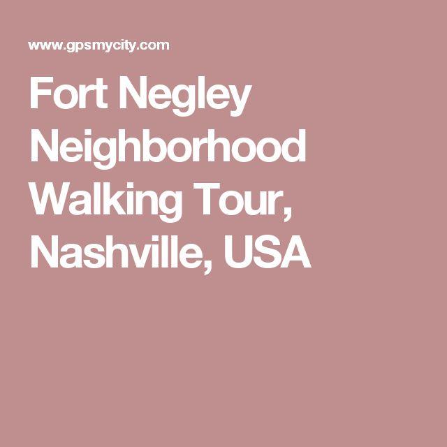 Fort Negley Neighborhood Walking Tour, Nashville, USA