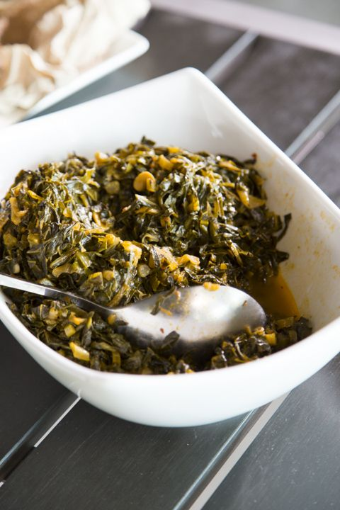 Sautéed Collared Greens from Carla Hall's appearance on Simply Ming