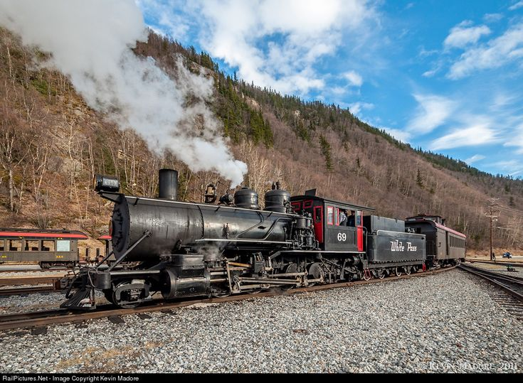 High Quality Photograph Of White P Yukon Route Steam Wpy 69 At Skagway Alaska Usa