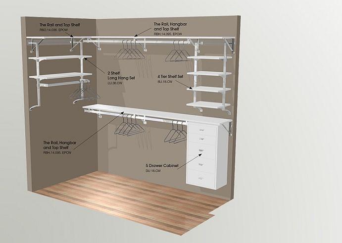ikea closet system plans